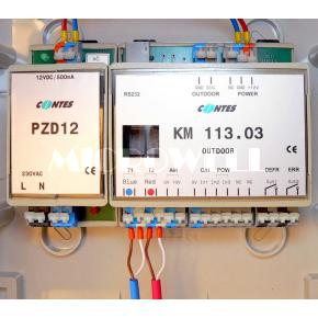 Komunikační moduly k jednotce LG pro přímý výparník